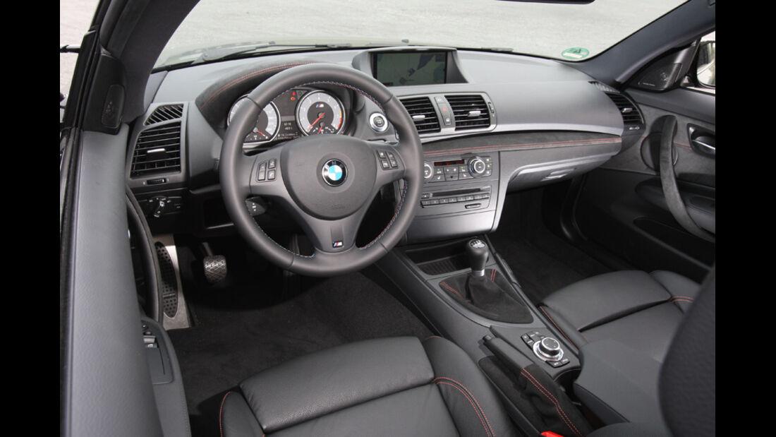 BMW Einser M Coupe, Cockpit, Lenkrad