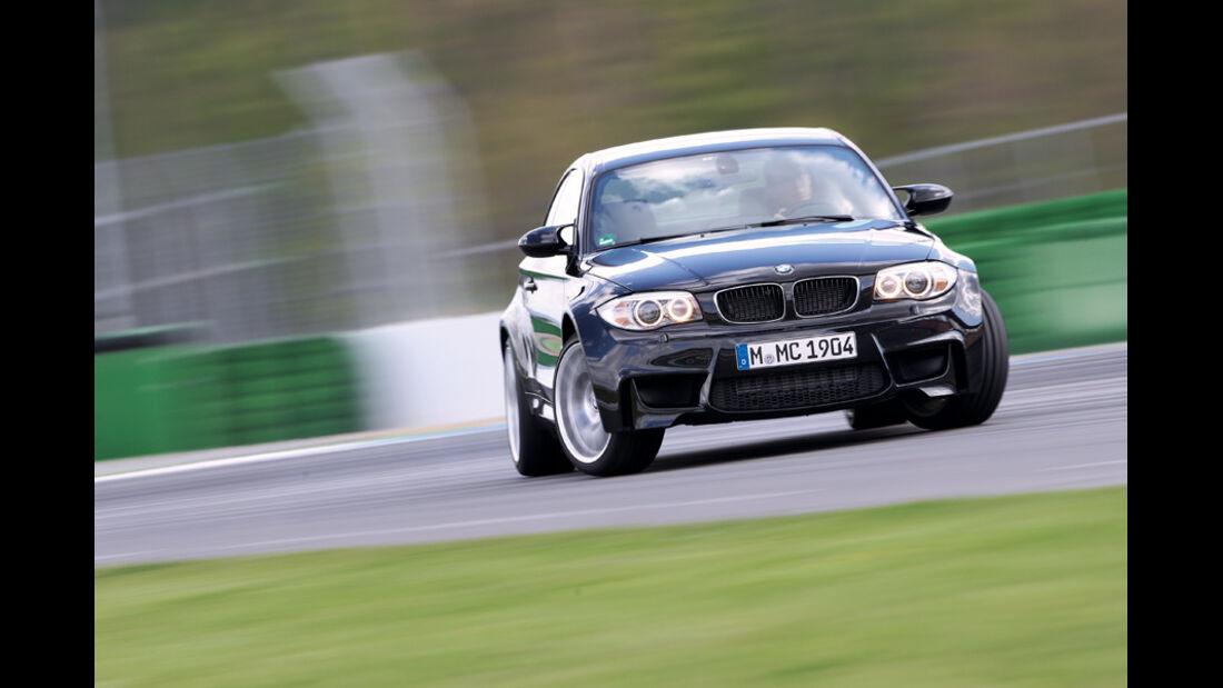 BMW Einser M Coupe, Kurve, Fahrt, Gelände