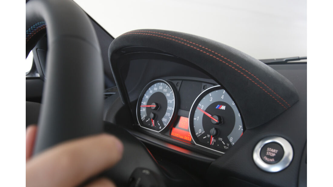 BMW Einser M Coupe, Lenkrad