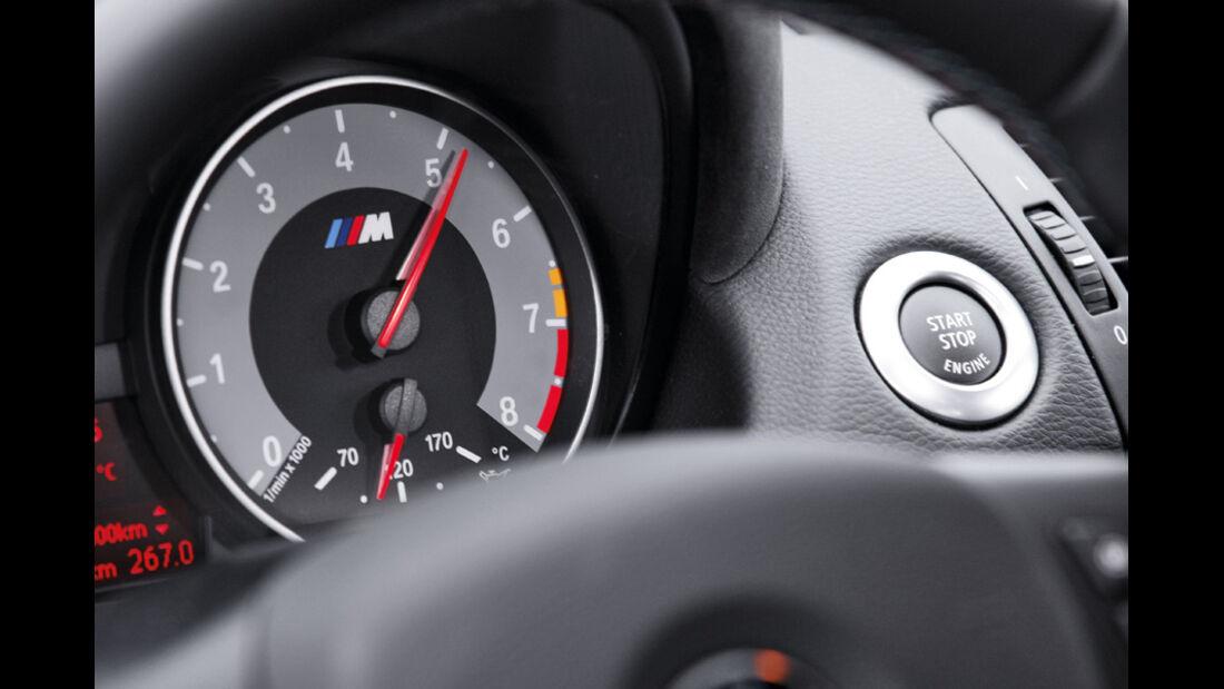 BMW Einser M Coupe, Messinstrument, Detail