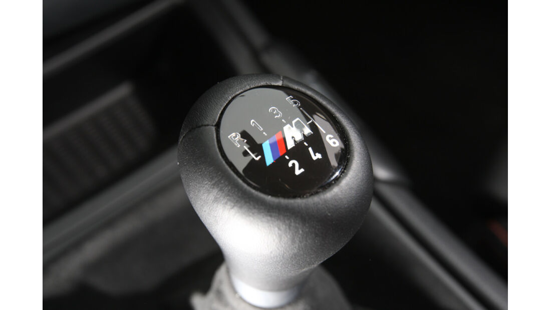 BMW Einser M Coupe, Schalthebel