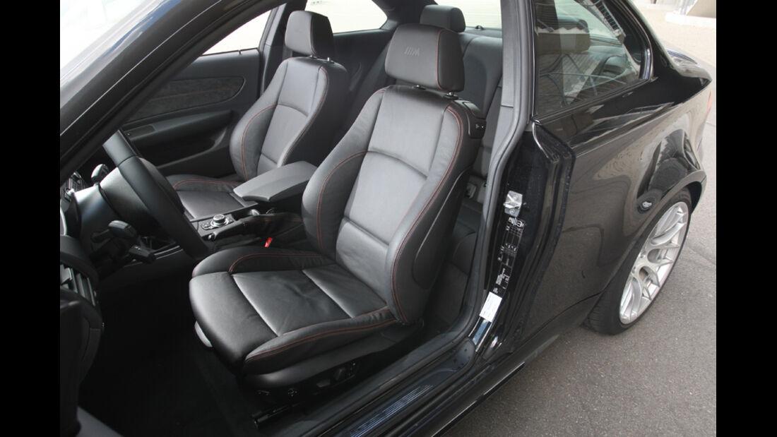 BMW Einser M Coupe, Sitze vorn