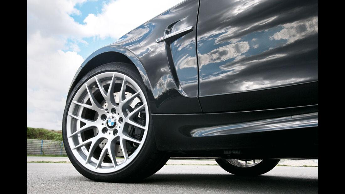BMW Einser M Coupe, Vorderpartie