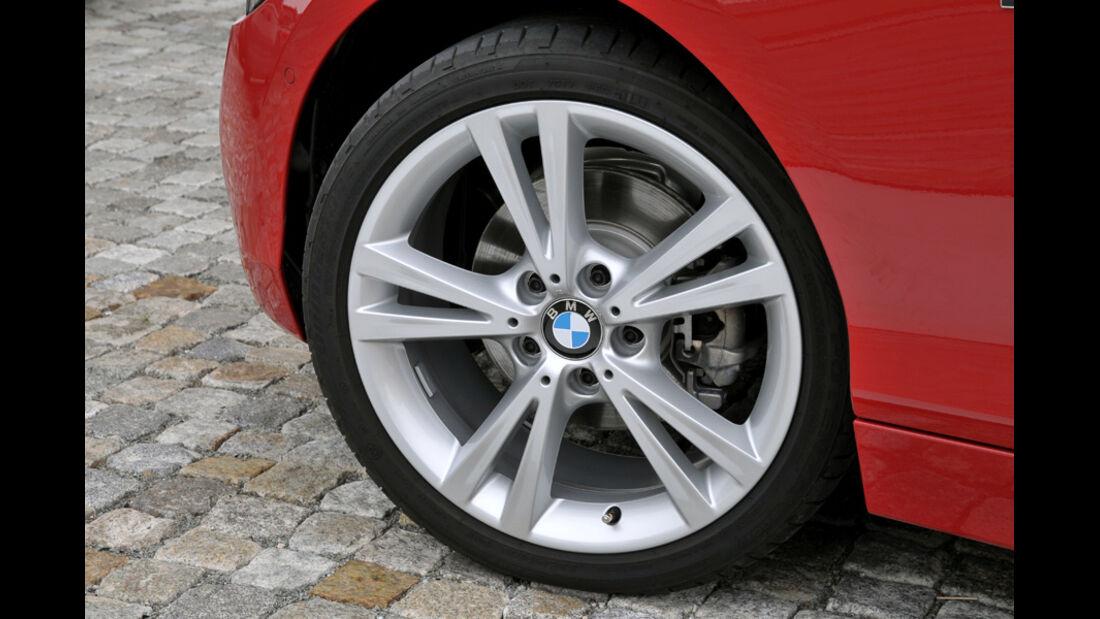 BMW Einser, Vorderrad, Felge