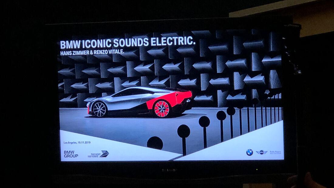 BMW Elektroauto-Sound by Hans Zimmer