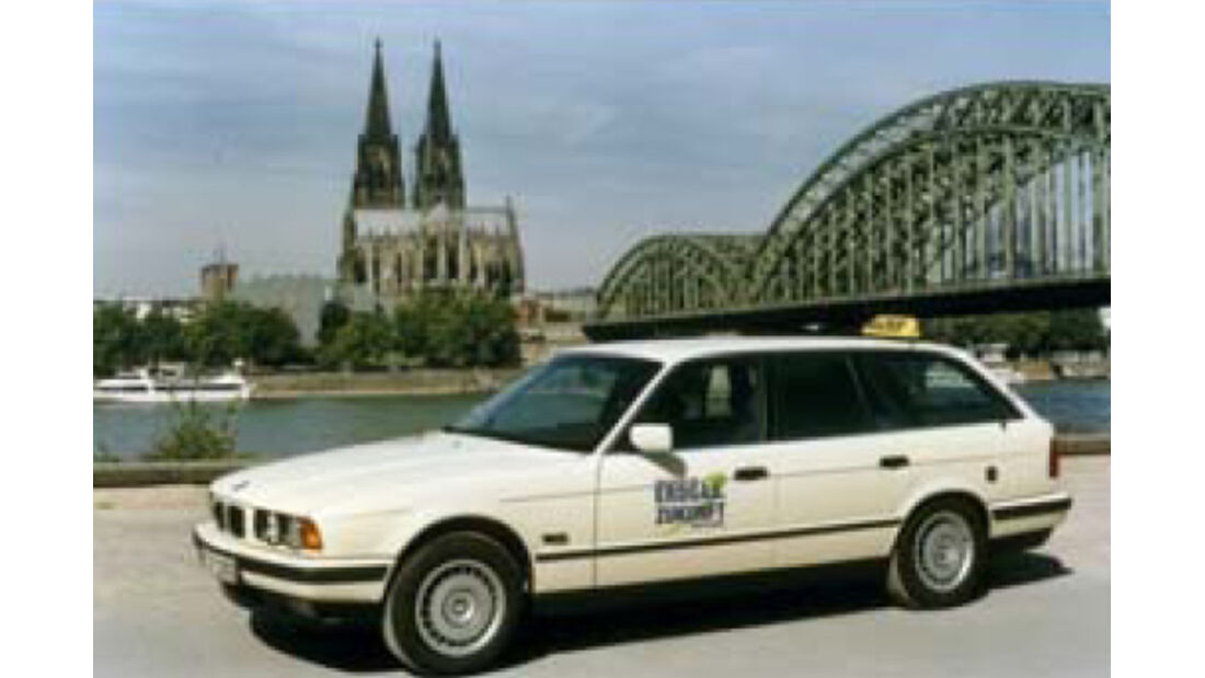 BMW Elektroautos, Ökoautos, BMW 518g touring, Erdgas