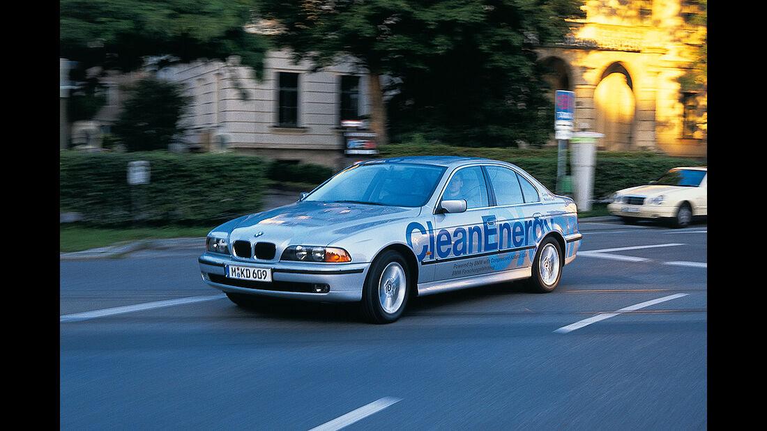BMW Elektroautos, Ökoautos, BMW 523g, Erdgas