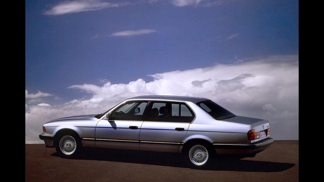 BMW Elektroautos, Ökoautos, BMW 735 iL,Wasserstoff, bivalenter Antrieb