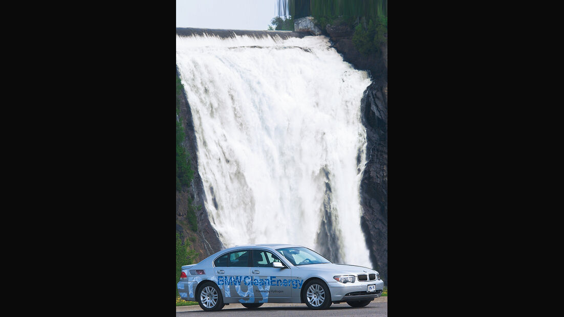BMW Elektroautos, Ökoautos, BMW 745h, BMW Hydrogen Concept, Wasserstoff