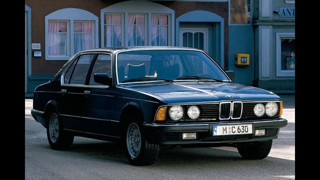 BMW Elektroautos, Ökoautos, BMW 745i Turbo, Wasserstoff, bivalenter Antrieb