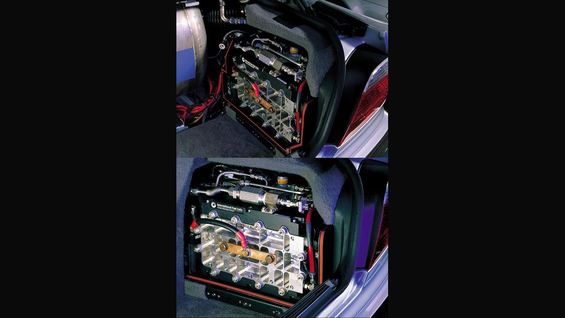 BMW Elektroautos, Ökoautos, BMW 750hL, APU, Brennstoffzelle, Wasserstoff