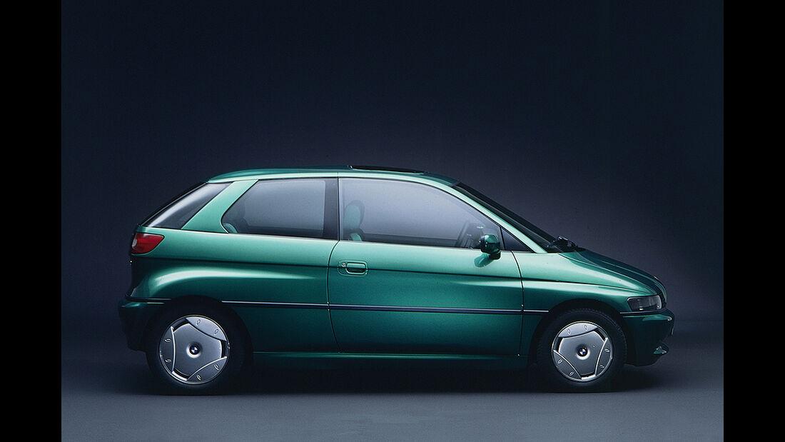 BMW Elektroautos, Ökoautos, BMW E1
