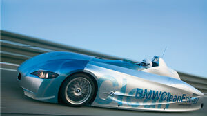 BMW Elektroautos, Ökoautos, BMW H2R, Wasserstoff, Rekordfahrzeug