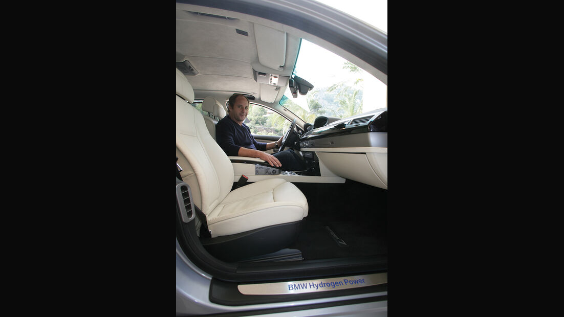 BMW Elektroautos, Ökoautos, BMW Hydrogen7, Wasserstoff