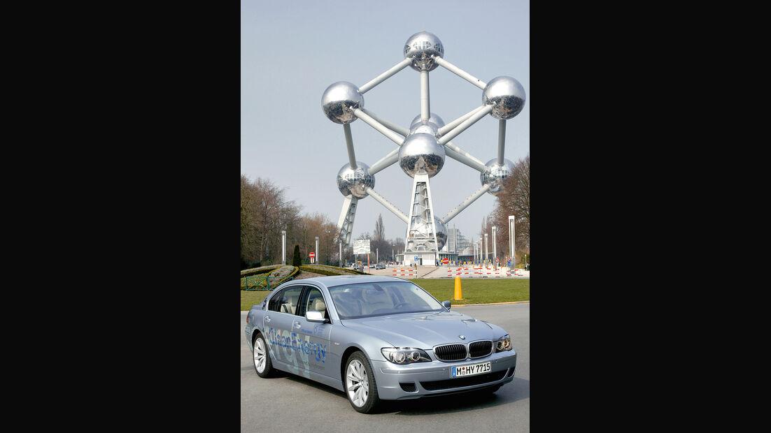 BMW Elektroautos, Ökoautos, BMW Hydrogen7, Wasserstoff, Gerhard Berger