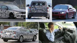 BMW Erlkönige