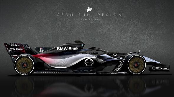 BMW - F1 2021 - Concept - Sean Bull Design