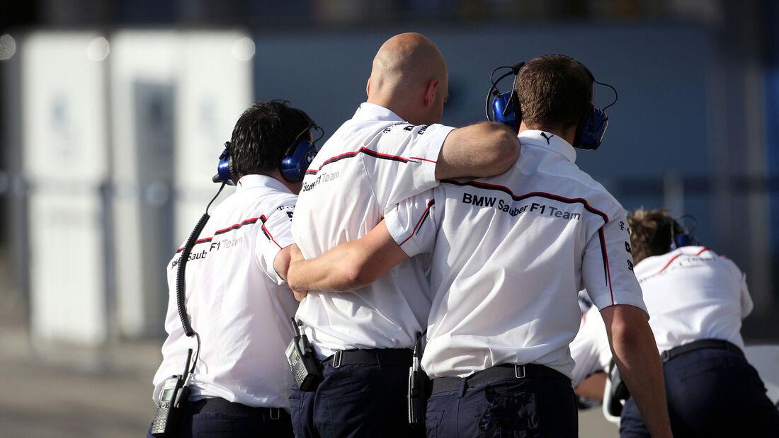 BMW - F1-Test Jerez 2008
