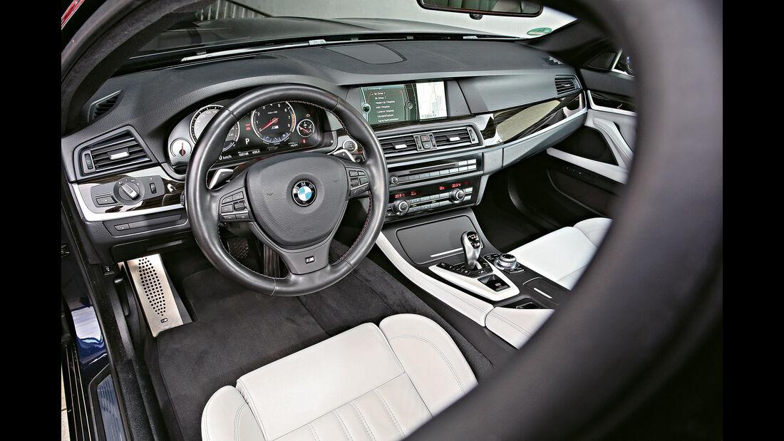 BMW F10, Cockpit