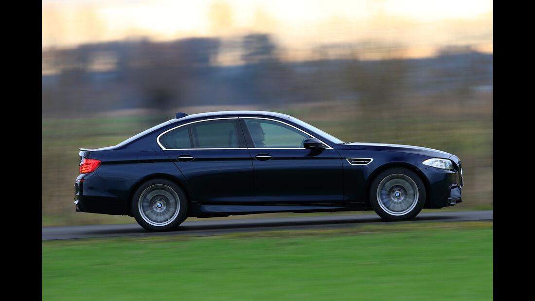 BMW F10, Seitenansicht