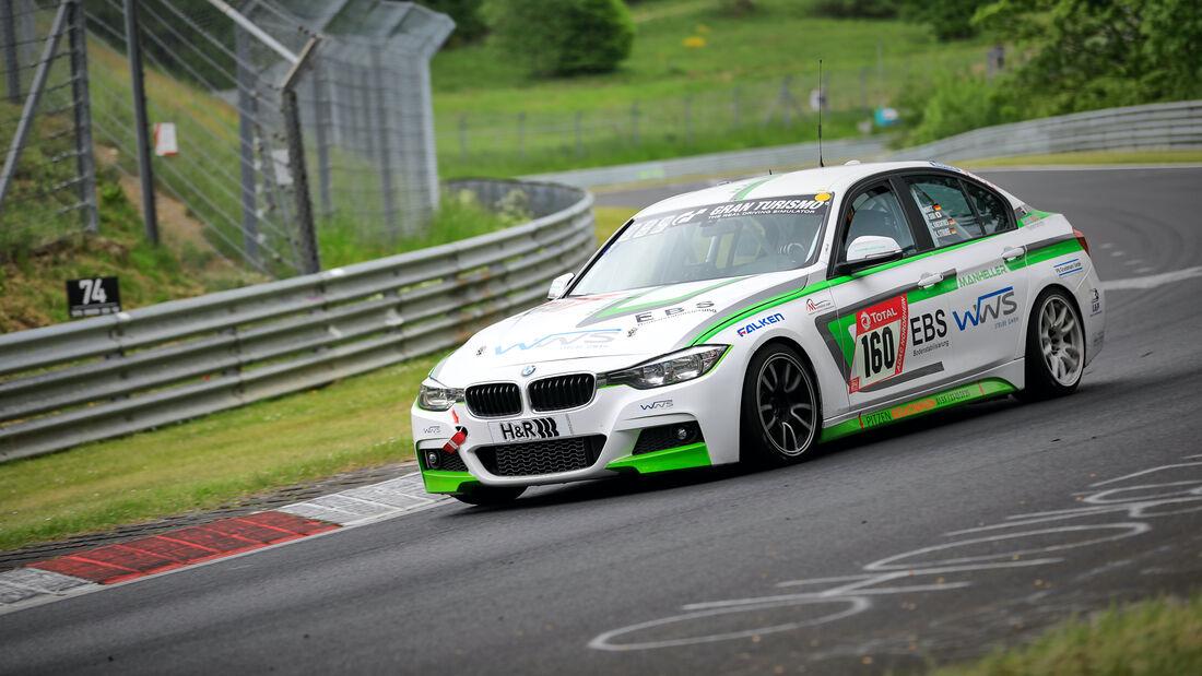 BMW F30 330i - Startnummer 160 - 24h Rennen Nürburgring - Nürburgring-Nordschleife - 3. Juni 2021