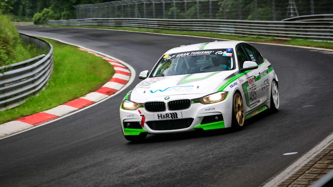 BMW F30 - Startnummer #495 - Manheller Racing - VT2 - NLS 2021 - Langstreckenmeisterschaft - Nürburgring - Nordschleife
