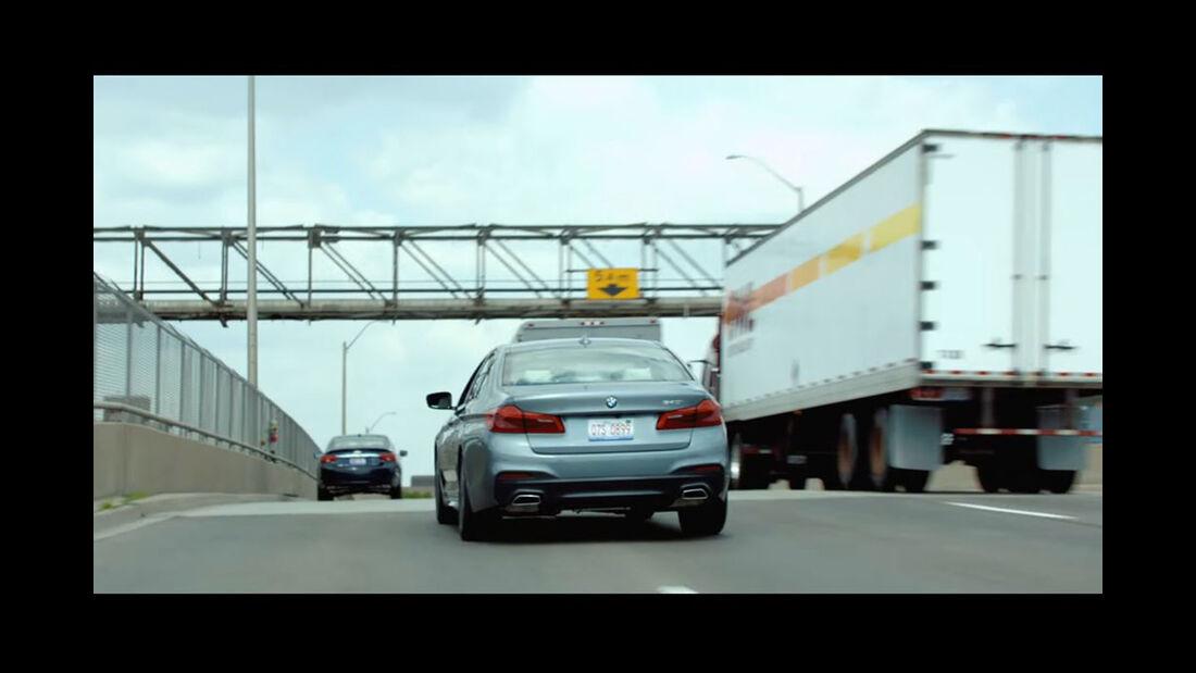 BMW Films, The Escape, Clive Owen, BMW 5er, G30, Kurzfilm
