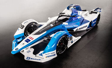 BMW Formel-E-Rennwagen 2018