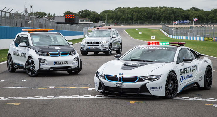 BMW - Formel E - Safety-Car & Medical Car 2015