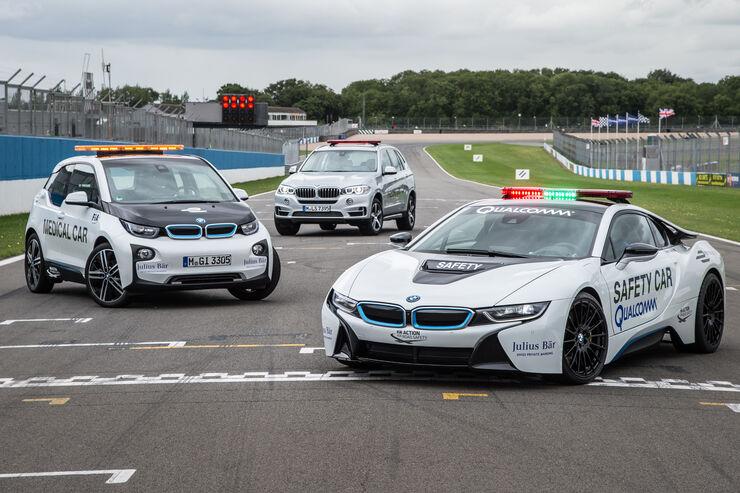 BMW - Formel E - Safety-Car & Medical Car 2015