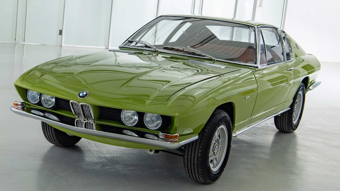 Bmw 2800 Gts Coupe 1969 Alternative Zum Bmw E9 Auto Motor Und Sport