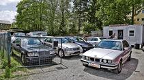 BMW Fü_nfer (E34), Front