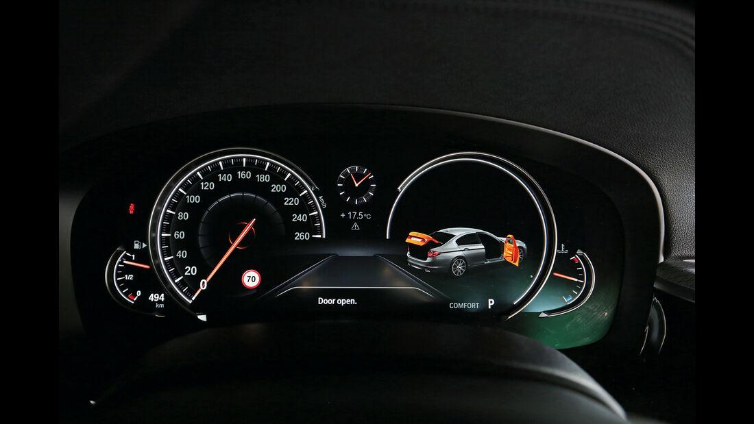 BMW Fünfer, Anzeigeinstrumente