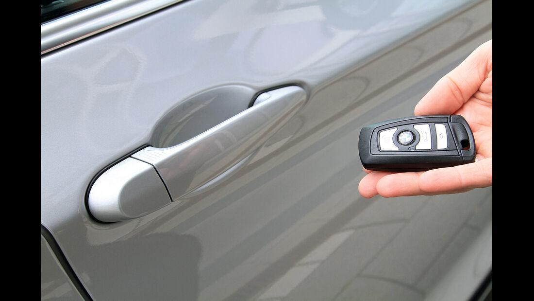 BMW Fünfer, Autoschlüssel