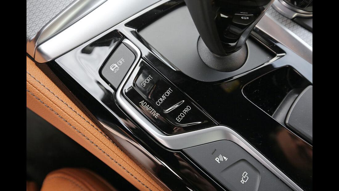 BMW Fünfer, Bedienelemente