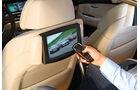 BMW Fünfer, Bildschirm, Rückseite Vordersitze