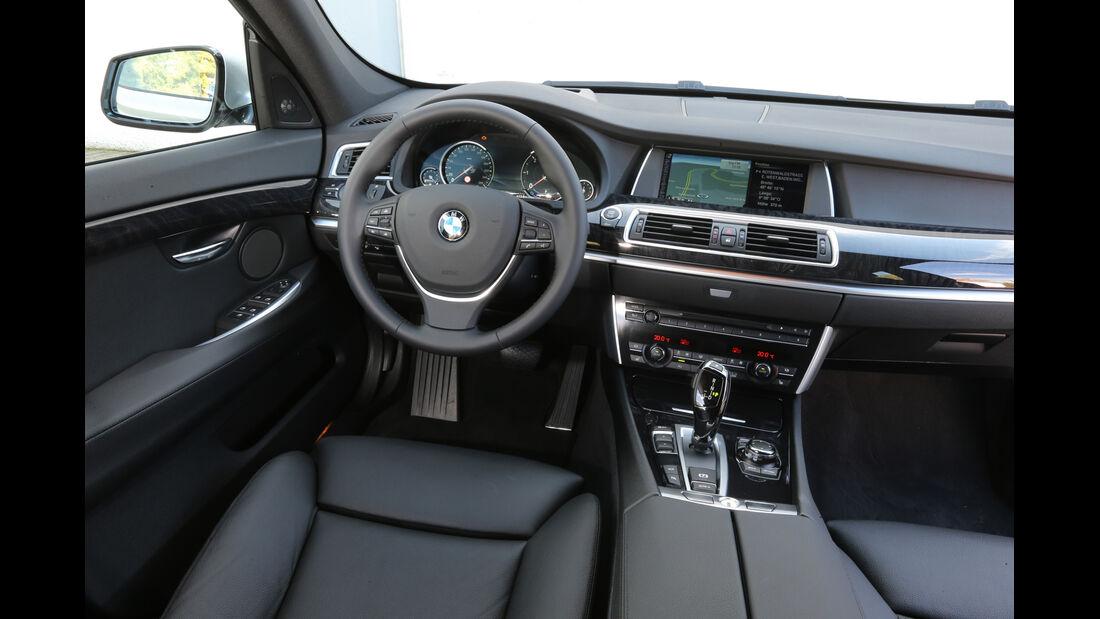 BMW Fünfer GT, Cockpit, Lenkrad