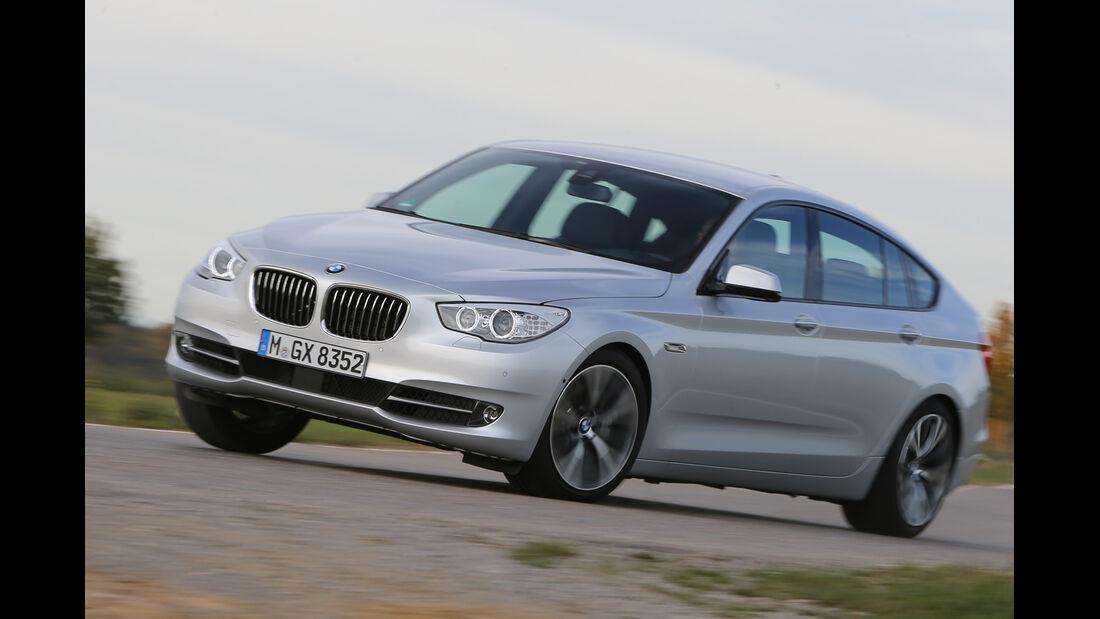 BMW Fünfer GT, Frontansicht