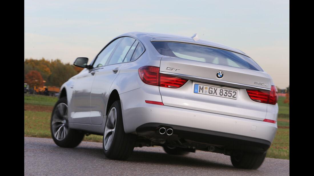BMW Fünfer GT, Heckansicht