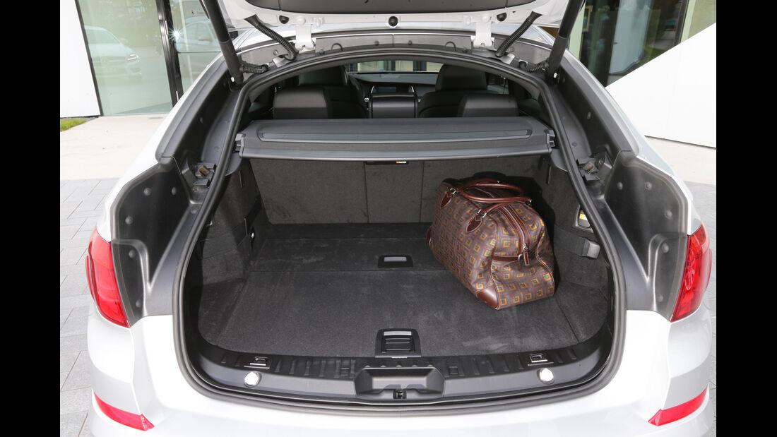 BMW Fünfer GT, Kofferraum, Ladefläche