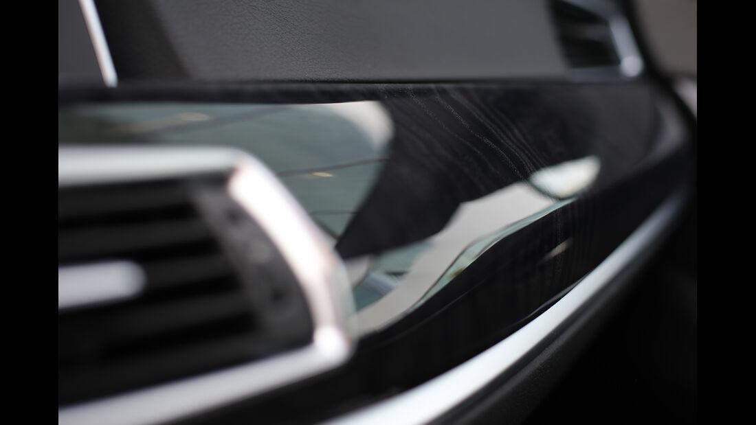 BMW Fünfer GT, Luftausströmer
