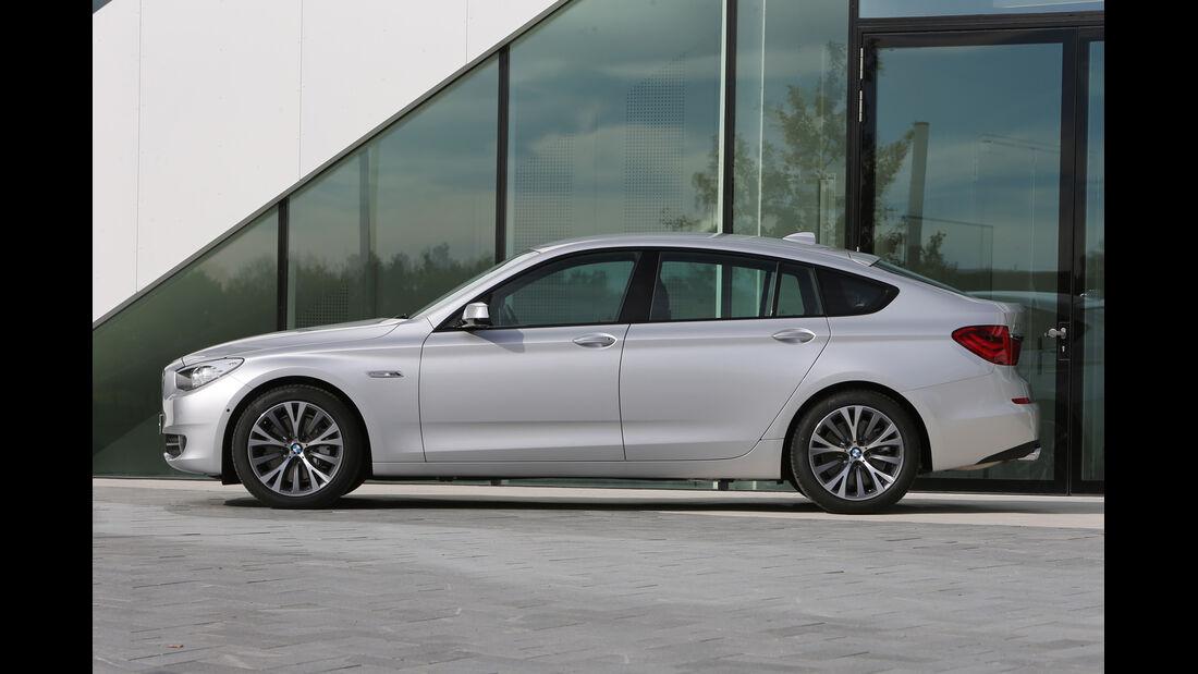 BMW Fünfer GT, Seitenansicht