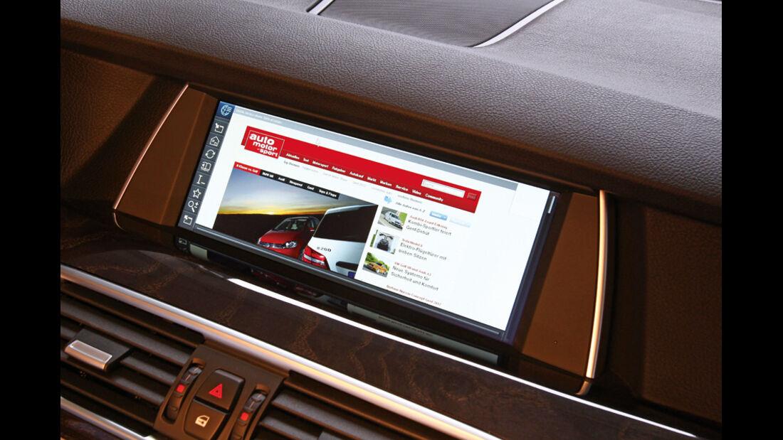 BMW Fünfer, Internetzugang