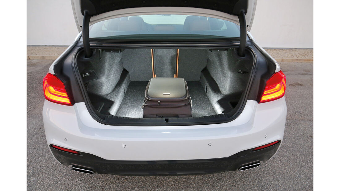 BMW Fünfer, Kofferraum