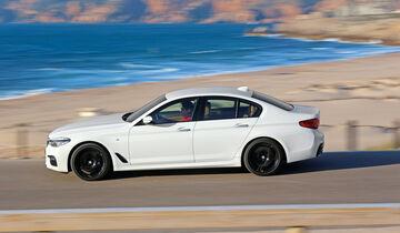 BMW Fünfer, Seitenansicht