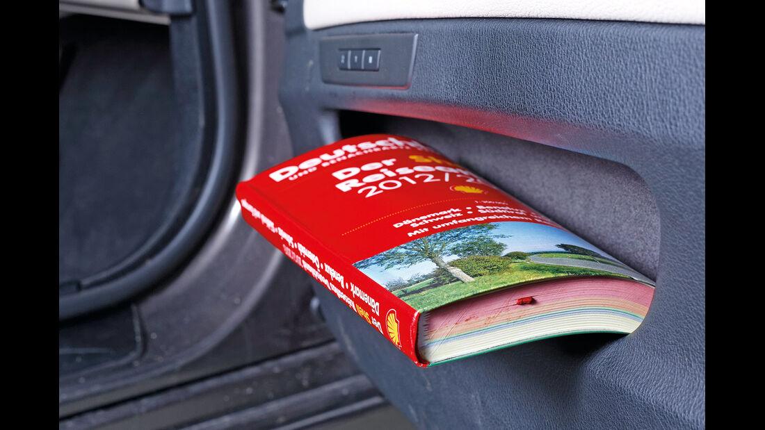 BMW Fünfer Touring, Handschuhfach