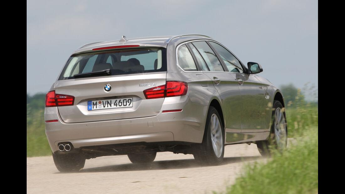 BMW Fünfer Touring, Heckansicht