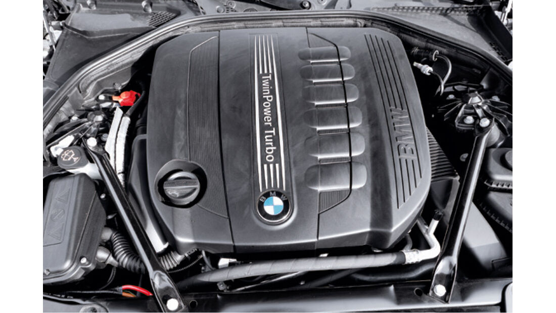 BMW Fünfer Touring, Motor