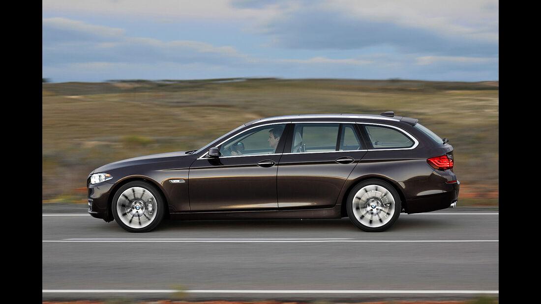 BMW Fünfer Touring, Seitenansicht