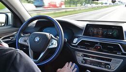 BMW Future Summit 2017 Autonomes Fahren 7er
